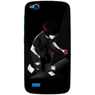 Snooky Printed Hep Boy Mobile Back Cover For Gionee Elife E3 - Multi