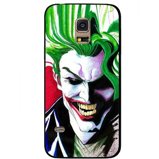 Snooky Printed Joker Mobile Back Cover For Samsung Galaxy S5 Mini - Multi