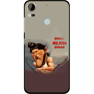 Snooky Printed Bhaag Milkha Mobile Back Cover For HTC Desire 10 Pro - Multi