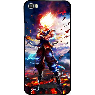 Snooky Printed In Anger Mobile Back Cover For Lava Iris X8 - Multi