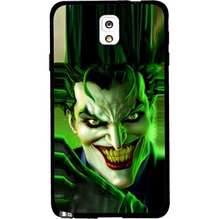 Snooky Printed Horror Wilian Mobile Back Cover For Samsung Galaxy Note 3 - Green