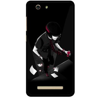 Snooky Printed Hep Boy Mobile Back Cover For Gionee F103 pro - Multi