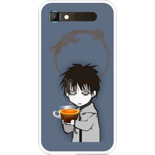 Snooky Printed Need Rest Mobile Back Cover For Intex Aqua Y2 Pro - Blue