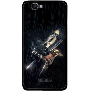 Snooky Printed The Thor Mobile Back Cover For Micromax Canvas 2 A120 - Multi