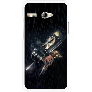 Snooky Printed The Thor Mobile Back Cover For Intex Aqua 3G Pro - Black