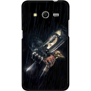Snooky Printed The Thor Mobile Back Cover For Samsung Galaxy G355 - Black
