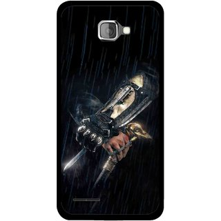 Snooky Printed The Thor Mobile Back Cover For Micromax Canvas Mad A94 - Black