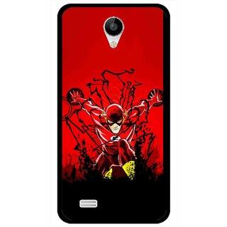 Snooky Printed Super Hero Mobile Back Cover For Vivo Y22 - Multicolour