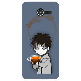 Snooky Printed Need Rest Mobile Back Cover For Asus Zenfone 4 - Blue