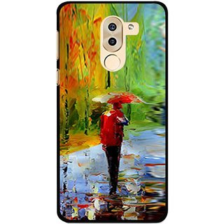 Snooky Printed Painting Mobile Back Cover For Huawei Honor 6X - Multi
