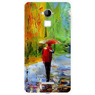 Snooky Printed Painting Mobile Back Cover For Coolpad Note 3 - Multi