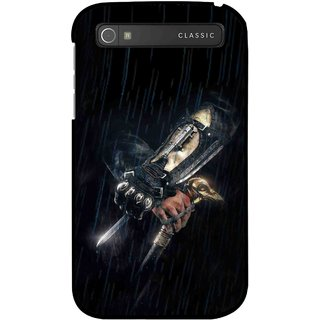 Snooky Printed The Thor Mobile Back Cover For Blackberry Classic - Black