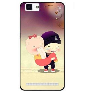 Snooky Printed Friendship Mobile Back Cover For Vivo X5 Max - Multi