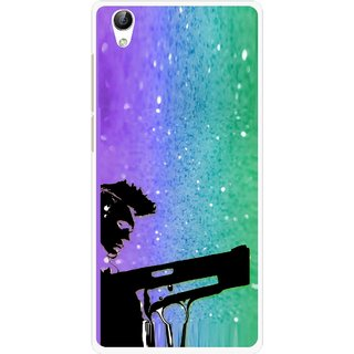 Snooky Printed Sparkling Boy Mobile Back Cover For Vivo Y51L - Multi