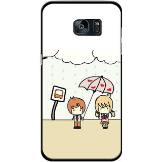 Snooky Printed Feelings in Love Mobile Back Cover For Samsung Galaxy S7 - Multi