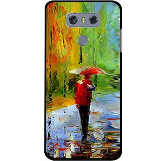 Snooky Printed Painting Mobile Back Cover For LG G6 - Multi