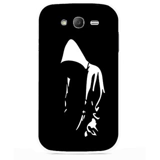 Snooky Printed Thinking Man Mobile Back Cover For Samsung Galaxy Grand I9082 - Multicolour