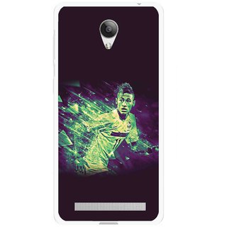 Snooky Printed Running Boy Mobile Back Cover For Vivo Y28 - Multicolour