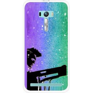 Snooky Printed Sparkling Boy Mobile Back Cover For Asus Zenfone Selfie - Multi