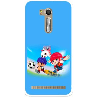 Snooky Printed Childhood Mobile Back Cover For Asus Zenfone Go ZB551KL - Multi