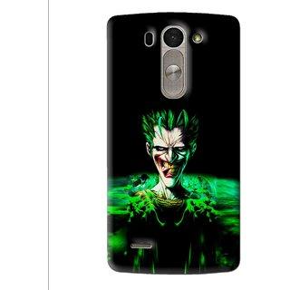 Snooky Printed Daring Joker Mobile Back Cover For Lg G3 Beat D722k - Multi