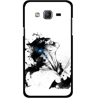 Snooky Printed Super Hero Mobile Back Cover For Samsung Galaxy On5 - Multicolour