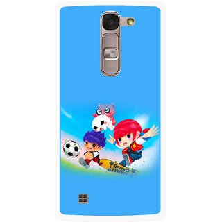 Snooky Printed Childhood Mobile Back Cover For Lg Magna - Multi