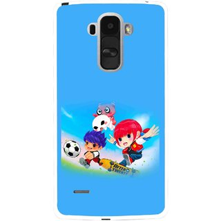 Snooky Printed Childhood Mobile Back Cover For Lg G4 Stylus - Multi