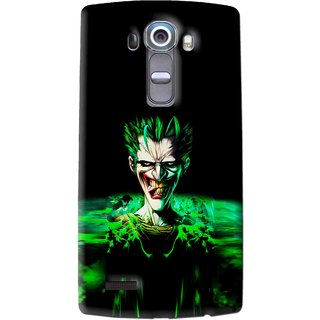 Snooky Printed Daring Joker Mobile Back Cover For Lg G4 - Multi