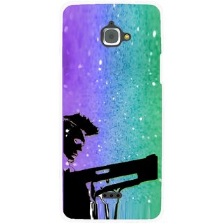 Snooky Printed Sparkling Boy Mobile Back Cover For Infocus M350 - Multi