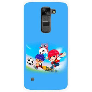 Snooky Printed Childhood Mobile Back Cover For Lg Stylus 2 - Multi