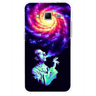 Snooky Printed Universe Mobile Back Cover For Samsung Galaxy Core Prime - Multicolour