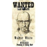 Snoogg Wanted Dead Or Alive Breaking Bad Case Cover For Samsung Galaxy S3 Mini