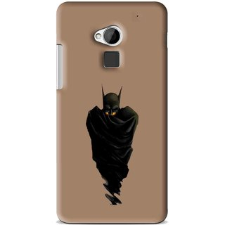 Snooky Printed Hiding Man Mobile Back Cover For HTC One Max - Multi
