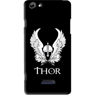 Snooky Printed The Thor Mobile Back Cover For Micromax Canvas Selfie 3 Q348 - Multi