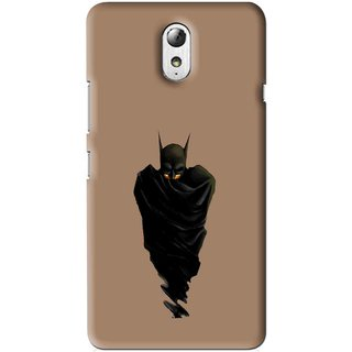 Snooky Printed Hiding Man Mobile Back Cover For Lenovo Vibe P1M - Multi
