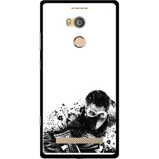 Snooky Printed Commando Mobile Back Cover For Gionee Elife E8 - Multicolour