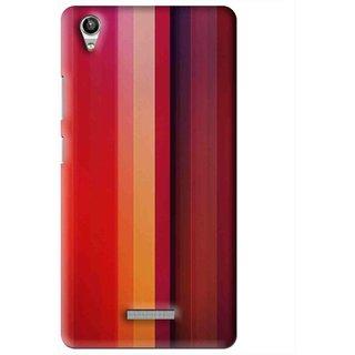 Snooky Printed Colorfull Stripes Mobile Back Cover For Lava Pixel V1 - Multi