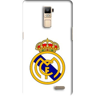 Snooky Printed Sports Logo Mobile Back Cover For Oppo R7 Plus - Multi