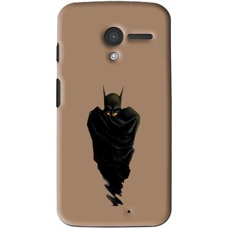 Snooky Printed Hiding Man Mobile Back Cover For Moto X - Multi