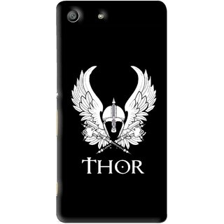 Snooky Printed The Thor Mobile Back Cover For Sony Xperia M5 - Multi