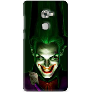 Snooky Printed Loughing Joker Mobile Back Cover For Huawei Mate S - Multi