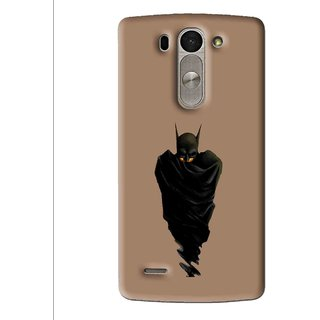 Snooky Printed Hiding Man Mobile Back Cover For Lg G3 Beat D722k - Multi