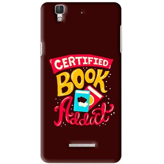 Snooky Printed Reads Books Mobile Back Cover For Micromax YU YUREKA - Multi