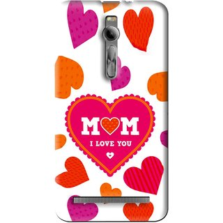 Snooky Printed Mom Mobile Back Cover For Asus Zenfone 2 - Multi