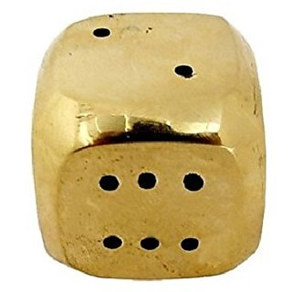 Dice Shape Brass Agarbatti Stand Holder
