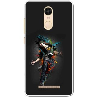 Snooky Printed Music Mania Mobile Back Cover For Gionee S6s - Multi
