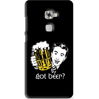 Snooky Printed Got Beer Mobile Back Cover For Huawei Mate S - Multi