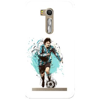 Snooky Printed Have To Win Mobile Back Cover For Asus Zenfone Go ZB551KL - Multi