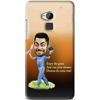 Snooky Printed True Dream Mobile Back Cover For HTC One Max - Multi